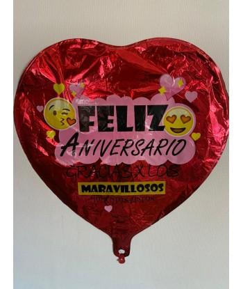 Globo Feliz Aniversario 1